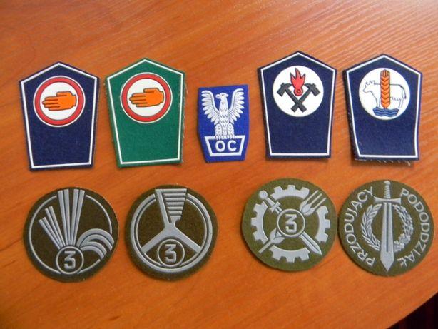Odznaki LWP i OC