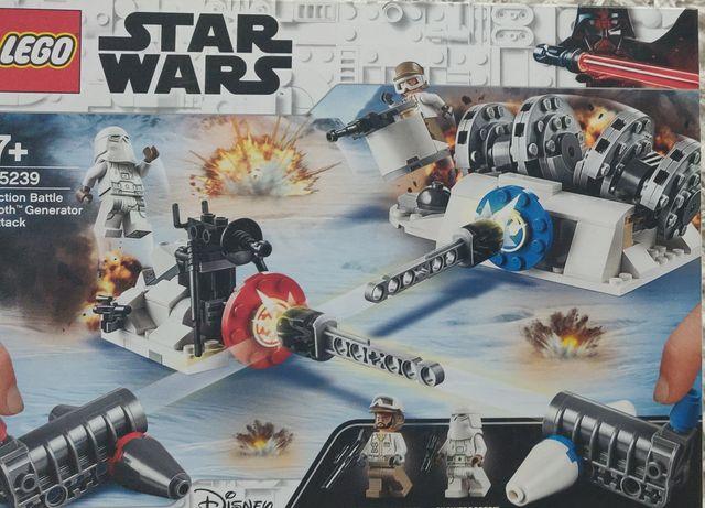 Star Wars LEGO atak na generator Hoth 75239