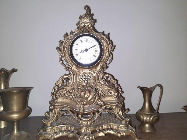 Zegar Mosienżny  Antyk