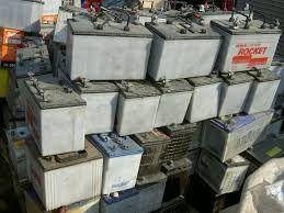 Baterias Auto para Reciclagem