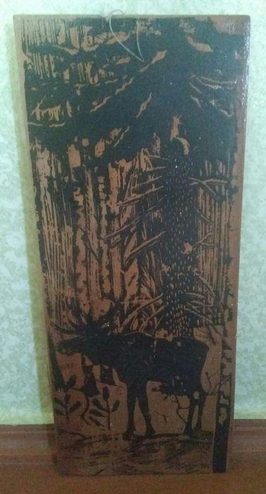 Картина - шелкография на фанере Крыжановка - изображение 1