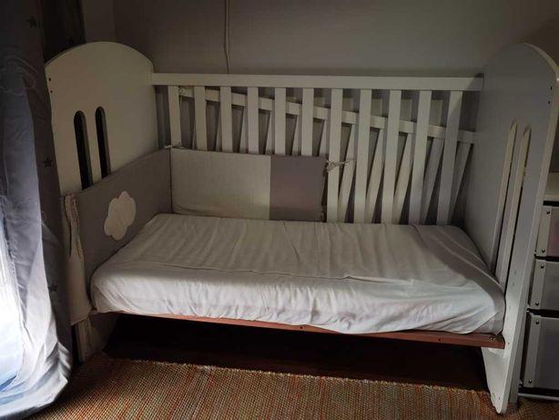 Berço bebé Micuna branco, como novo
