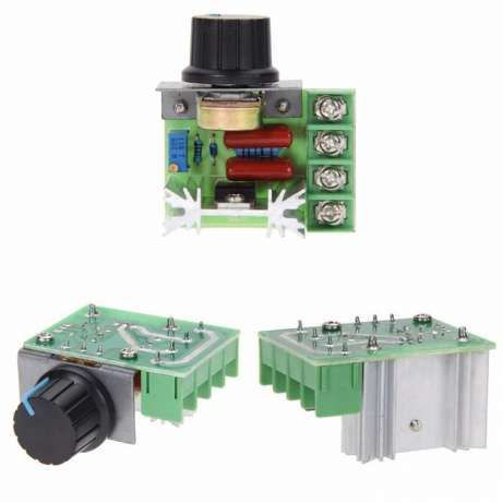 Регулятор напряжения мощности диммер AC 220V 600 W, 2000 W, 4000 W