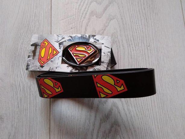 pasek męski Superman metalowa klamra nowy roz. L