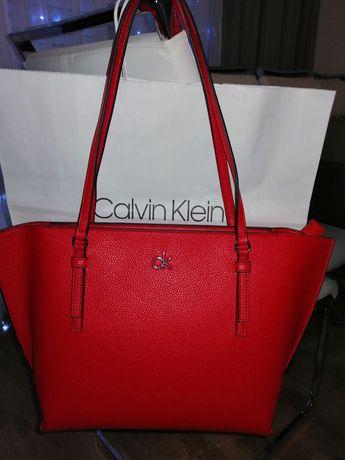 Nowa z metkami torebka Calvin Klein oryg. mieszcząca A4