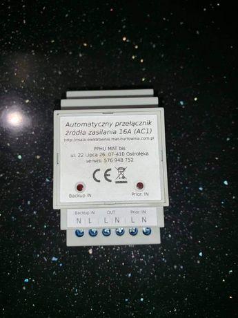 Automatyczny przełącznik zasilania APZ-1 na szyne DIN