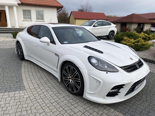 Porsche Panamera wynajem bez bik i krd