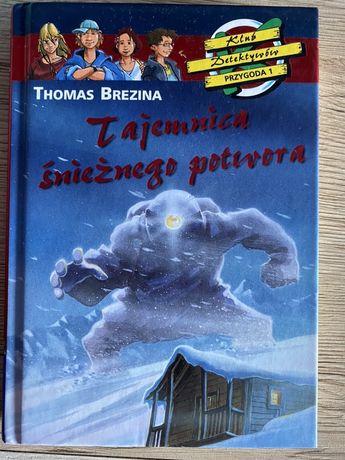 Klub detektywów tajemnica śnieżnego potwora T. Brezina