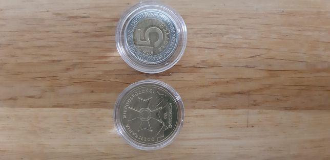 Moneta, monety, 2zl NG, 5zl okolicznosciowe.