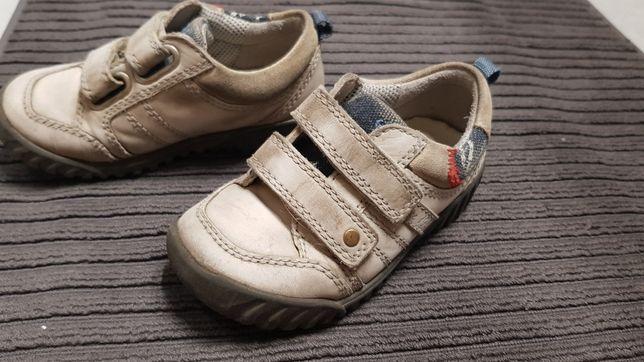 Buty półbuty skórzane Ecco 25
