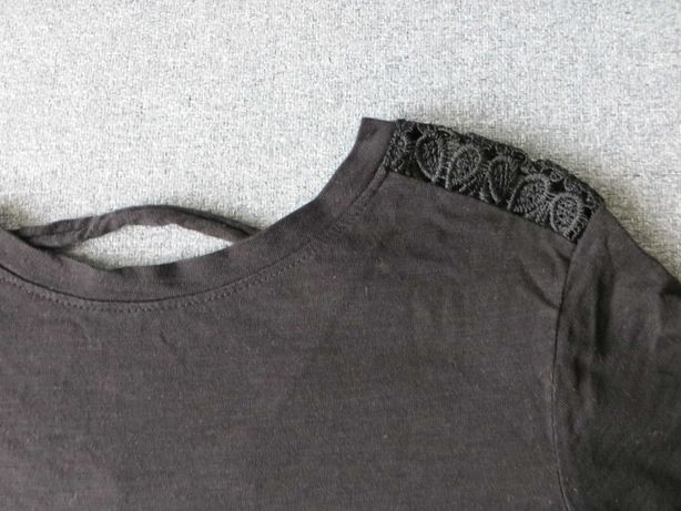Bluzka czarna Cropp