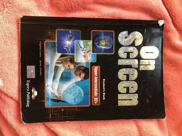 On screen upper intermediate b2+ podręcznik