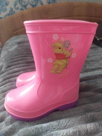 Гумові чоботи рожеві
