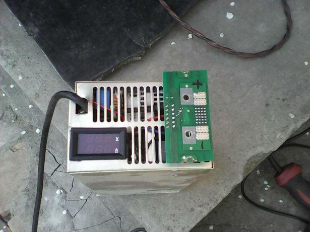 Мощное зарядное для электроскутера электровелосипеда 40-99в.