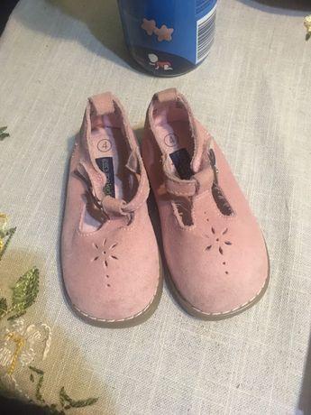 Туфельки из натуральной замши, 19 размер
