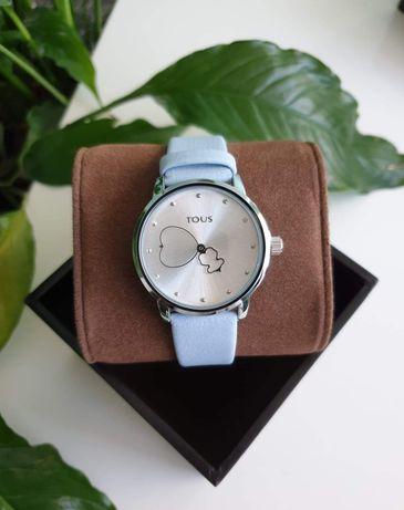 Tous ~ nowy zegarek błekitny pasek + pudełko gratis