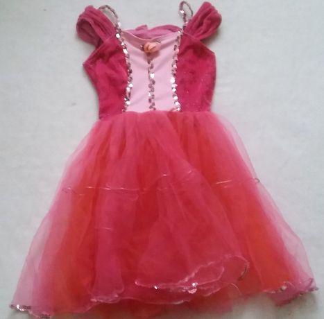 Sukienka karnawałowa Księżniczka rozmiar: 98-110cm