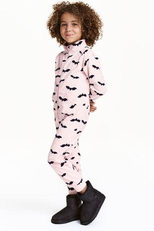 Kombinezon piżama kostium z polaru polarowy Halloween H&M 98