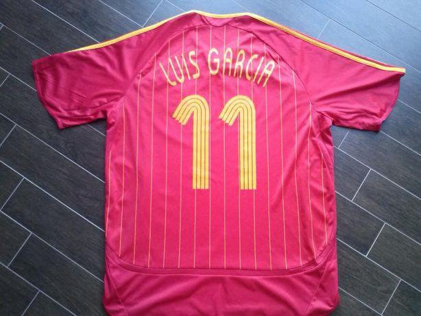 Camisola de Futebol - Seleção de Espanha - Luis Garcia #11