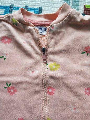 Rozpinana bluza dziewczęca