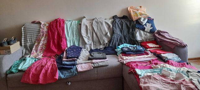 Paka ubrań dla dziewczynki 146-158, 46 szt.