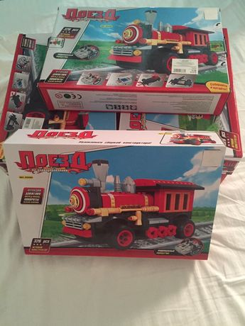 Продам паровоз поезд конструктор Лего