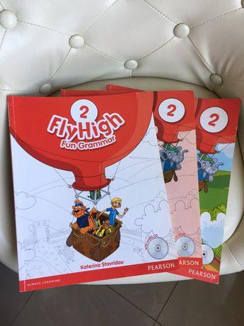 Учебники Fly High 2,4,5 класс.