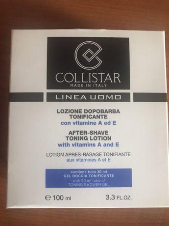 Collistar чоловічий лосьйон після гоління 100мл + у подарунок пробник