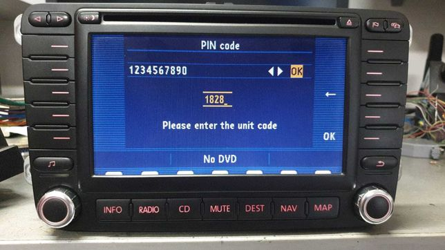 Radio navigation golf 5 passat b6