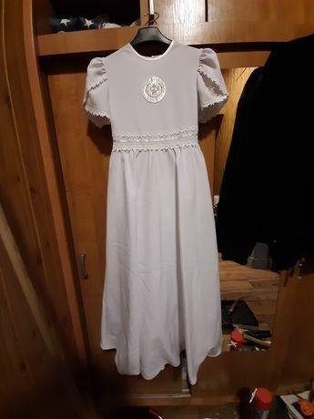 Sukienka komunijna w stylu alby