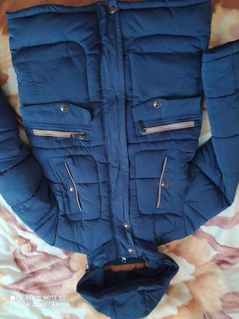 Куртка темно синя ...