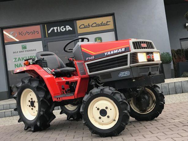 Minitraktorek ogrodniczy sadowniczy YANMAR F145 4x4 moc 14,5KM RRSO 0