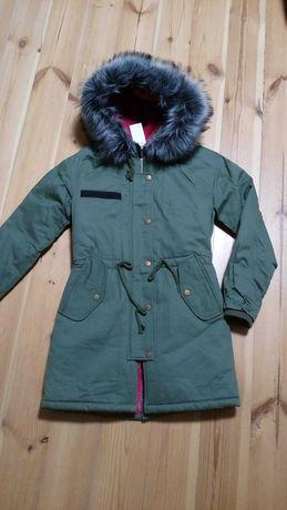 АКЦИЯ  600 грн Куртка-парка на меху внутри изделия Размер S-M(42-44)