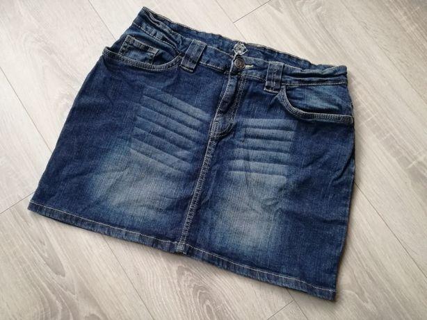Jeansowa spódniczka Esmara, krótka, dżins