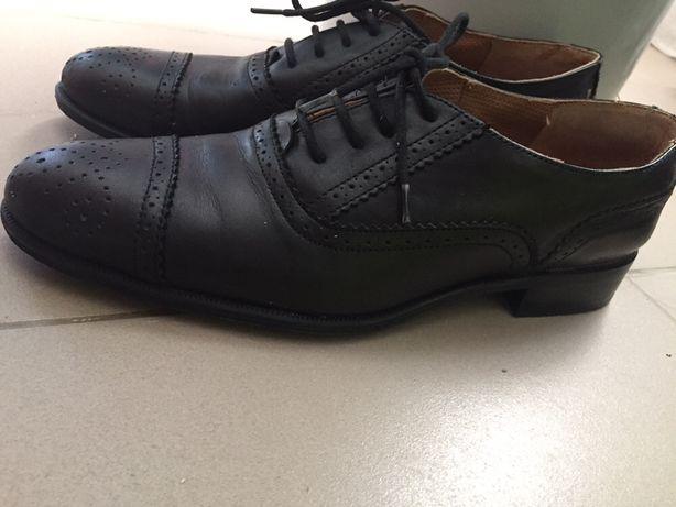 Туфли Zara черные размер 39,5
