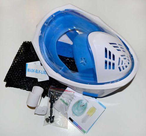 Абсолютно новая маска для дайвинга,сноркелинга,для подводного плавания