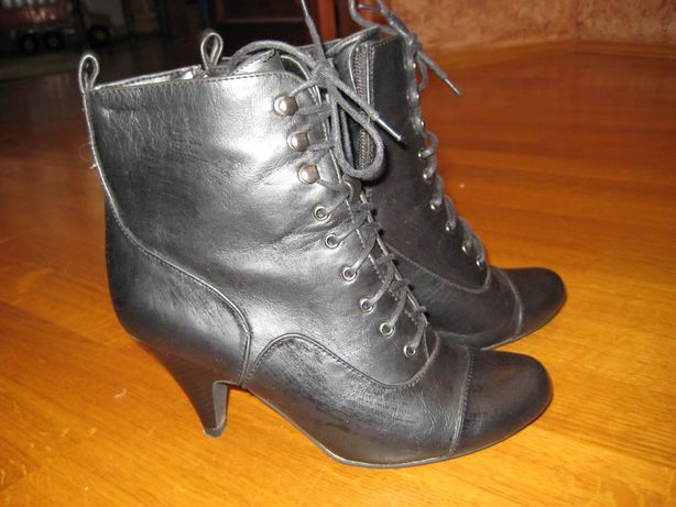 Женские демисезонные ботинки 37р - 24 см