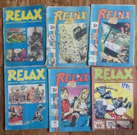 Komiksy Relax x 6