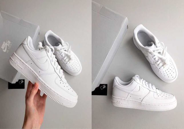 Кроссовки Nike Air Force 1 Low (Gs) White 314192-117/DH2920-111