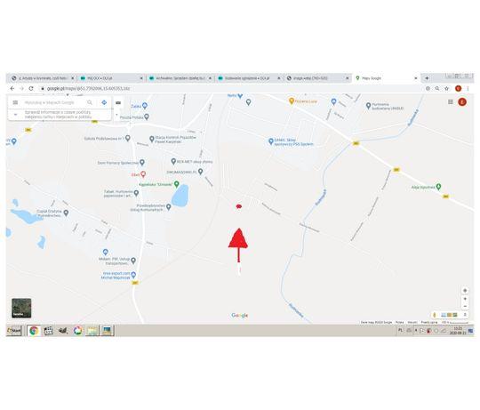 Sprzedam działkę budowlaną przy ul. Akacjowej w Kożuchowie