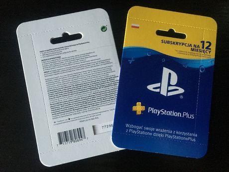 PlayStation Plus 12 miesięcy 365 dni