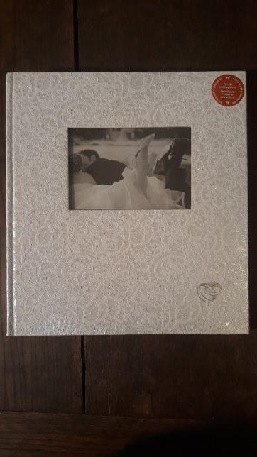 Album ślubny na zdjęcia do wklejania 60 str 224 zdjęcia 10x15cm, biały