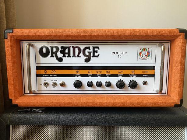 Orange Rocker 30 Head Amp Guitarra