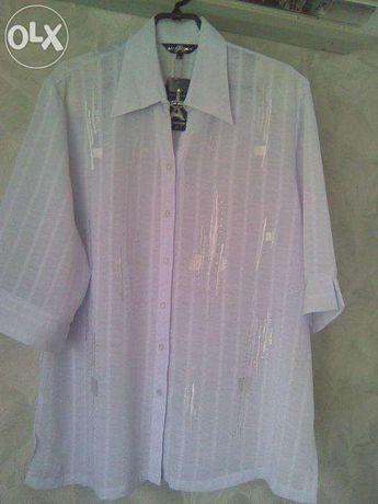 Блузка женская новая р 52(46) кофточка рубашка блуза
