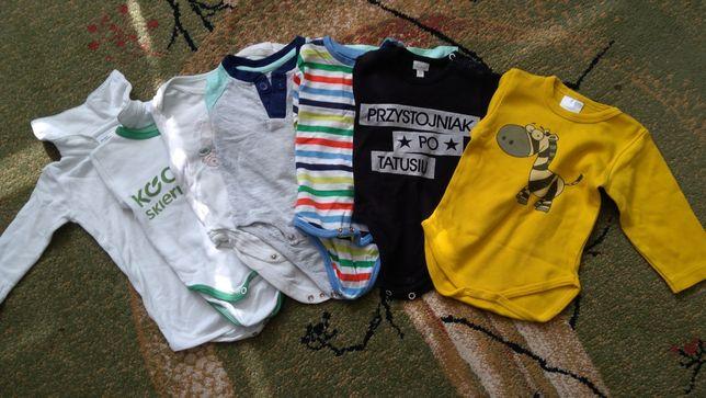 Sprzedam ubranka paka paczka komplet koszula spodnie body