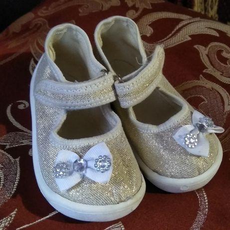Туфельки для девочки 21 размер