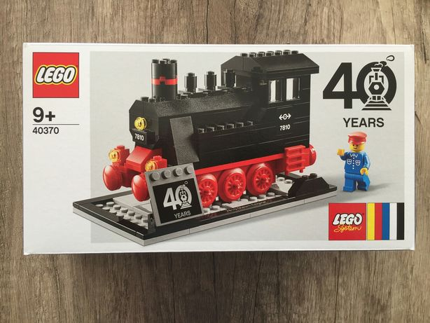 Lego 40370 | 40 years edição limitada raro train comboio