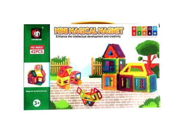 Магнитный конструктор Qunxing Toys, 42 детали