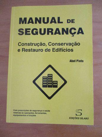 Manual de Segurança (Construção, Conservação e Restauro de Edifícios)