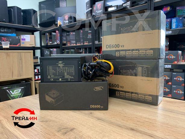 Новый! Блок питания DeepCool 600W! Гарантия CompX 500W 750